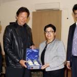 Dr Shahzad Waseeem & Imran Khan Meet Austrian Delegation
