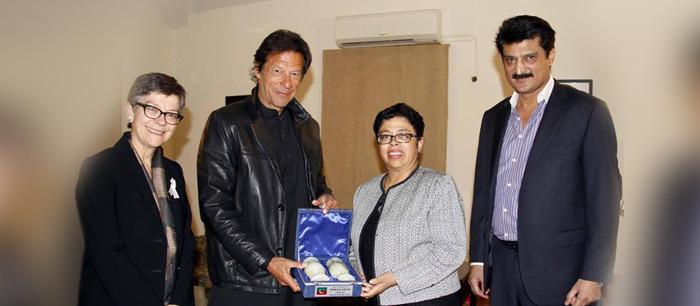 Dr Shahzad Waseeem & Imran Khan Meet Austrian Delegation - FE