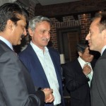 Dr Shahzad Waseeem hosted dinner for Chairman PTI Imran Khan with European ambassadors at his residence