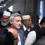 Dr Shahzad Waseem Central Secretory for Foreign Affairs received warm welcome on his arrival at Gujar Khan with Jahangir Khan Tareen & Aamir Mehmood Kiyani