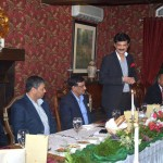 Dr Shahzad Waseem hosted dinner for out going DG ISSRA - NDU Maj Gen Noel Khokhar
