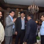 Dr Shahzad Waseem hosted dinner for out going DG ISSRA - NDU Maj Gen Noel Khokhar