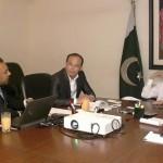 Dr Shahzad Waseem & Jahangir Khan Tareen Meets Chinise IT Specialist