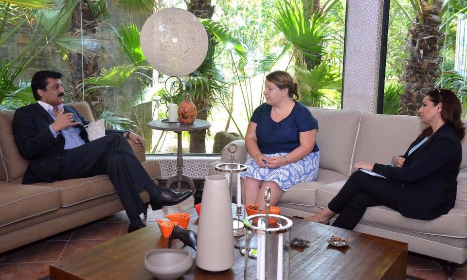 Dr Shahzad Waseem Meets DFID Team from British HC