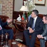Dr Shahzad Waseem Received delegation from British High Commission at his residence
