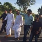 Dr Shahzad Waseem Visit F9 Park for PTI Youm e Tasees