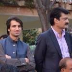 Dr Shahzad Waseem With Chairman PTI Imran Khan at Bani Gala