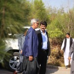 Dr Shahzad Waseem with Jahangir Khan Tareen arrived at Bani Gala.