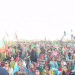 Dr Shahzad Waseem at 20th PTI Foundation Day Jalsa