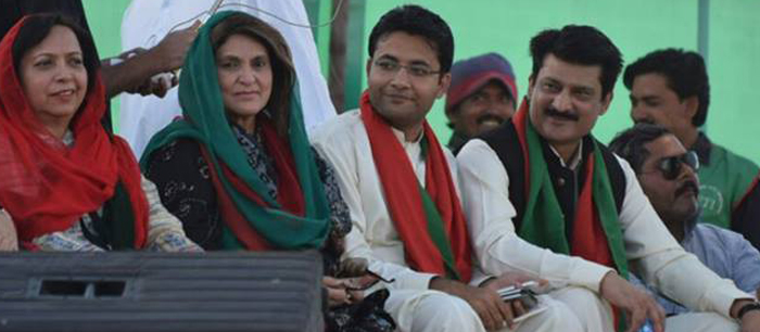Dr Shahzad Waseem at 20th PTI Foundation Day Jalsa - FeatureImage