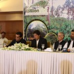 Dr Shahzad Waseem at 3rd party monitoring session of the Billion Tree Tsunami project in Islamabad