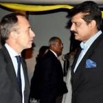 Dr Shahzad Waseem at Australian Reception