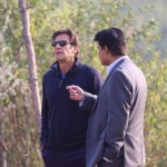 Dr Shahzad Waseem at Bani Gala for strategic meeting and discussion with chairman PTI Imran Khan