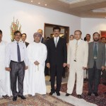 Dr Shahzad Waseem at Brazil Embassy Reception