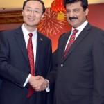 Dr Shahzad Waseem at China Reception