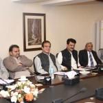 Dr Shahzad Waseem at Core Group meeting presided by Chairman PTI Imran Khan at Bani Gala