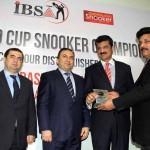 At Pakistan Sports Board.