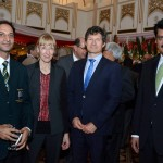Dr Shahzad Waseem at Poland National Day Reception