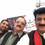 Dr Shahzad Waseem at Prade Ground Youm e Tashakur Jalsa