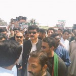 Dr Shahzad Waseem at Shahdara with Shoaib Siddiqui and PTI tigers for Pakistan Ehtesab March