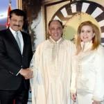 Dr Shahzad Waseem at Tunis Reception
