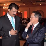 Dr Shahzad Waseem at a reception hosted by Japan Amb Takashi Kurai
