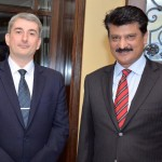 Dr Shahzad Waseem attended Belgium reception in Islamabad