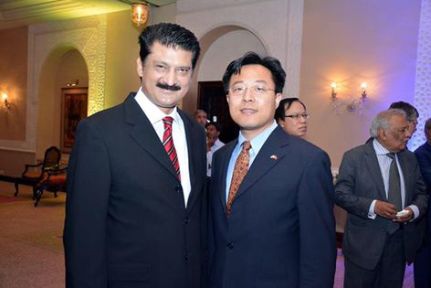 Dr Shahzad Waseem attended Japanese and Italian receptions hosts by new ambassadors
