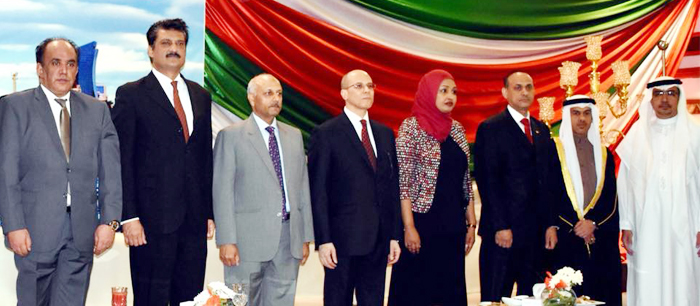 Dr Shahzad Waseem attended Kuwait National Day Reception - 02 - P