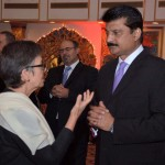 Dr Shahzad Waseem attended Poland reception hosted by Ambassador Piotr Opalinski