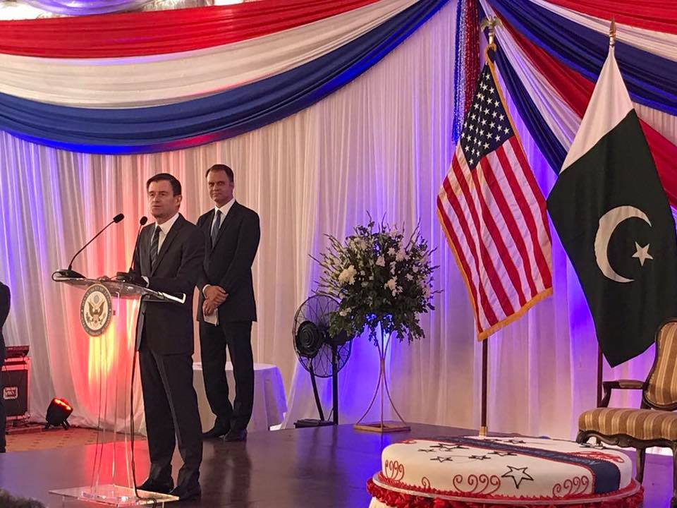 Dr Shahzad Waseem attended USA National Day & Election Day at USA embassy