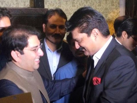Dr Shahzad Waseem attended Walima reception hosted by Saifullah Nyazee