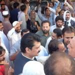 Dr Shahzad Waseem attended funeral prayer of Siddiq khan MPA brother of senior #PTI leader Sarwar khan