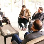 Dr Shahzad Waseem had good discussion with Chairman PTI Imran Khan