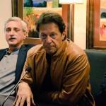 Dr Shahzad Waseem in Media Strategy meeting presiding by chairman PTI Imran Khan at Bani Gala Islamabad