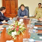 Dr Shahzad Waseem in a Meeting with Prime Minister Imran & Chinese Minister