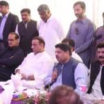 Dr Shahzad Waseem in a meeting at Bulkasar
