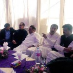 Dr Shahzad Waseem in a meeting at Bulkasar