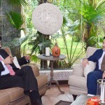 Dr Shahzad Waseem meets delegate from USA State Department at his residence