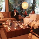 Dr Shahzad Waseem met Local Leaders at his residense