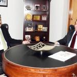 Dr Shahzad Waseem Central Secretary for foreign Affairs PTI met Turkish High Commissioner H.E Mr Ashan Mustafa Parwakol.