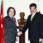Dr Shahzad Waseem Central Secretary for foreign Affairs PTI met Turkish High Commissioner H.E Mr Ashan Mustafa Parwakol.