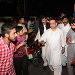 Dr Shahzad Waseem spend a long day with Abdul Aleem Khan, going to every corner of NA122.