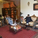 Dr Shahzad Waseem visited ISF leader Sibtain Satti to express condolence on the death of his uncle