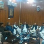 Dr Shahzad Waseem visited PAT secretariat with Ch M.Sarwar and Abdul Aleem Khan.