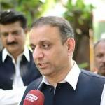 Dr Shahzad Waseem with Abdul Aleem Khan on Polling day.