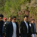 Dr Shahzad Waseem with Chairman PTI Imran Khan at Bani Gala