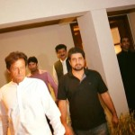 Dr Shahzad Waseem with Imran Khan Chairman PTI at Lahore