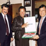 Imran Khan along with Dr Shahzad Waseem Meeting CPC Delegation