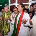 Dr Shahzad Waseem with Imran Khan at Mian Mir Shrine